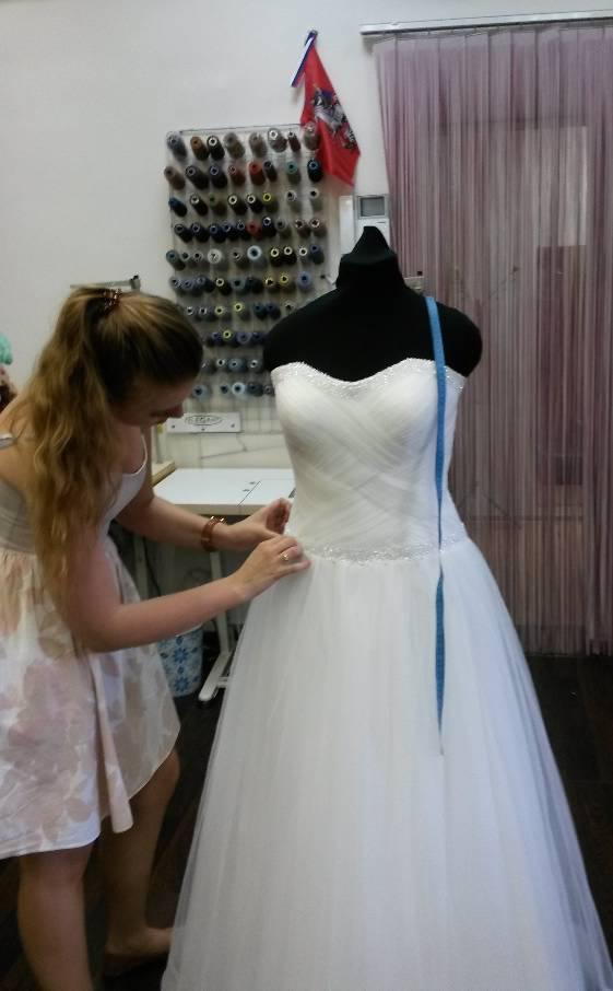 Ремонт свадебного платья цена